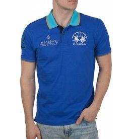La Martina La Martina ® Poloshirt Maserati, Blau