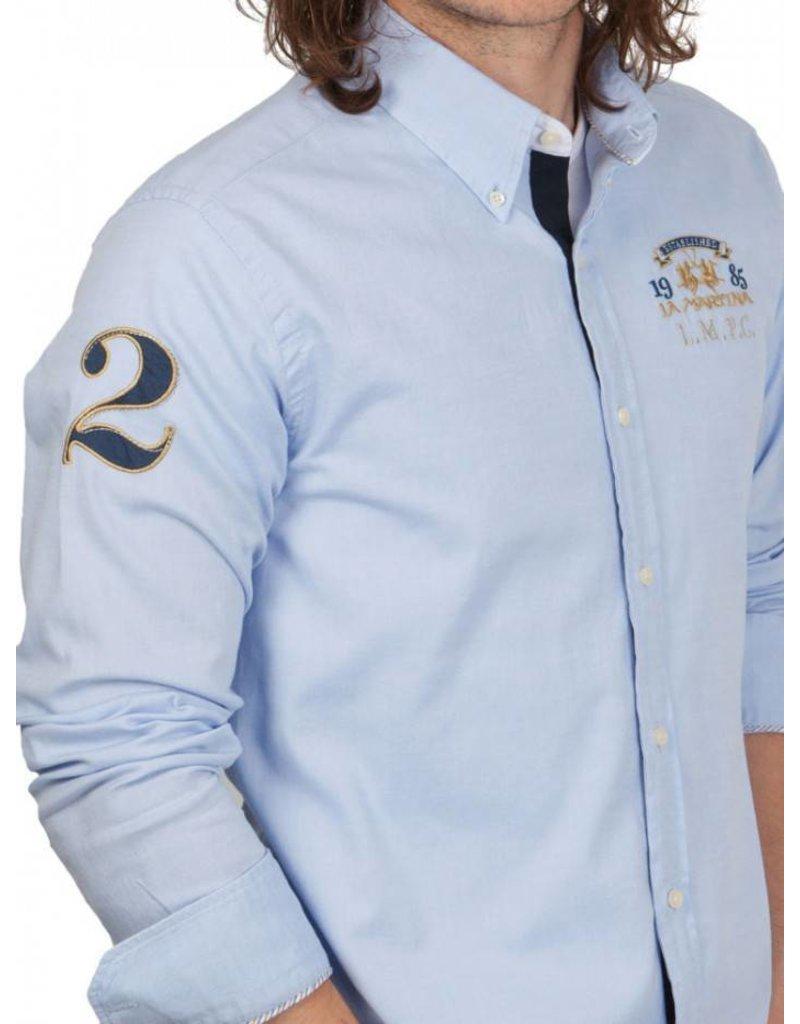 La Martina ® Shirt Oxford L.M.P.C.