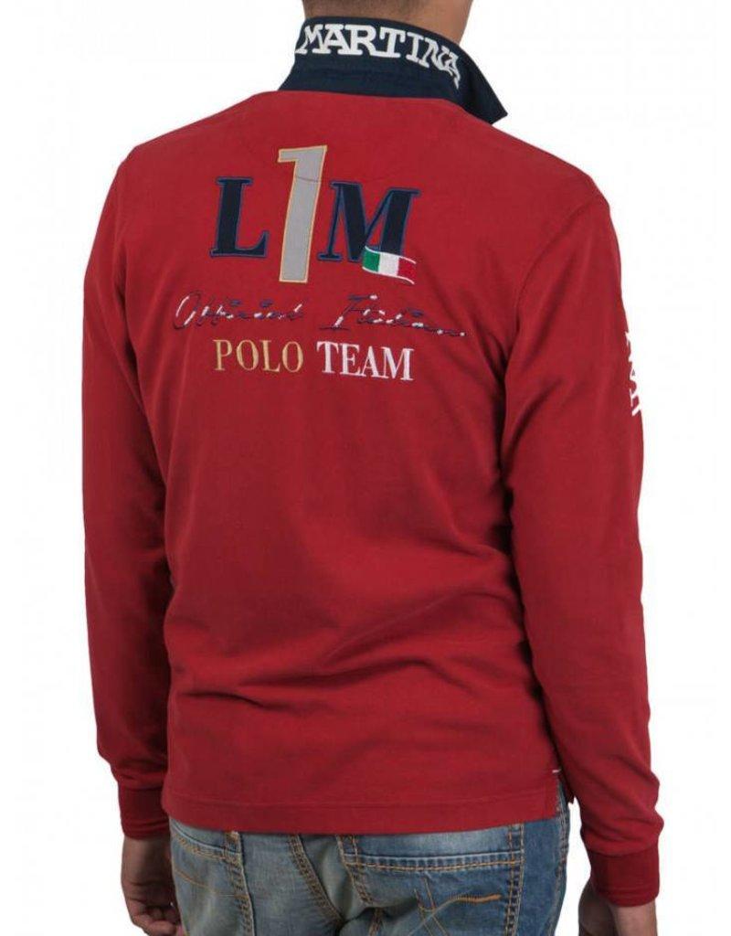 La Martina ® Sweatshirt Italian Polo Team