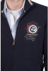 Napapijri ® Sweatshirt mit Reißverschluss, Dunkelblau