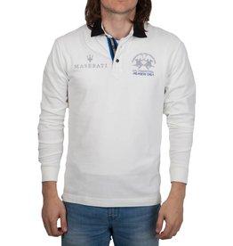 La Martina La Martina ® Sweatshirt Maserati, off White