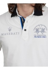 La Martina ® Sweatshirt Maserati, off White