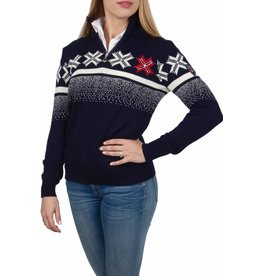 Dale of Norway Dale of Norway ® Olympic Passion Damen Pullover, Dunkelblau