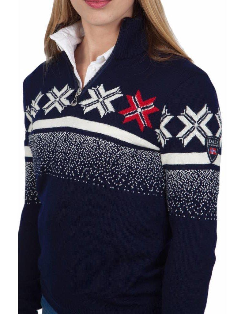 Dale of Norway ® Olympic Leidenschaft Damen Pullover, Dunkelblau