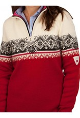 Dale of Norway ® St.Moritz Damen Pullover, Rot/Weiß