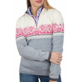 Dale of Norway Dale of Norway St. Moritz ® Grund Pullover, Grau/Weiß