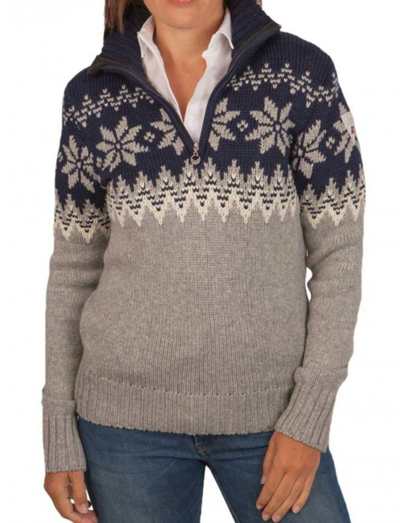Dale of Norway ® Myking Pullover, dunkelblau / grau
