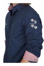 van Santen & van Santen ® Hemd VSP, dunkelblau