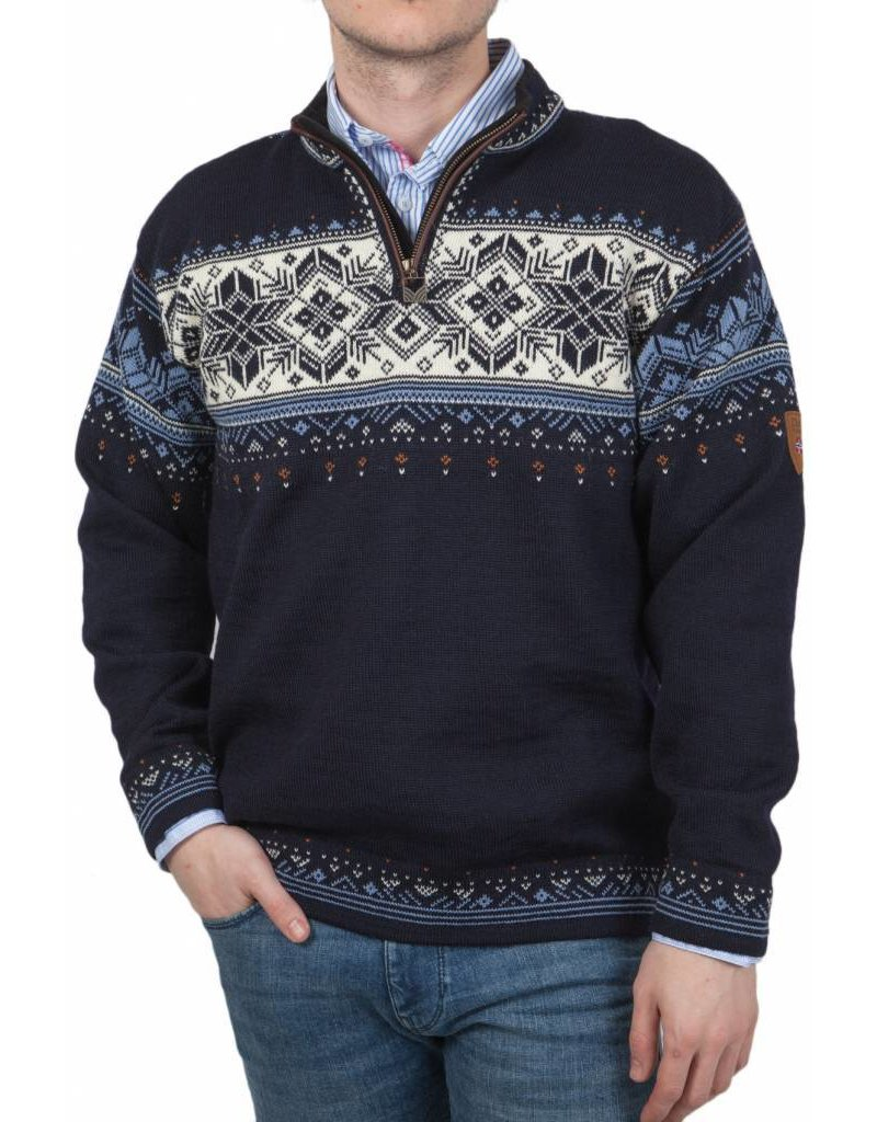 Dale of Norway ® Pullover Blyfjell, Dunkelblau