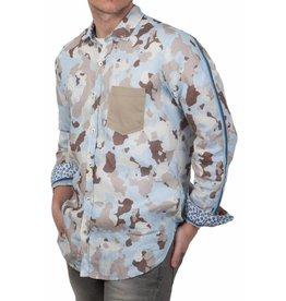 Lucky de Luca Lucky de Luca ® Hemd Camouflage
