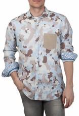 Lucky de Luca ® Hemd Camouflage Desert