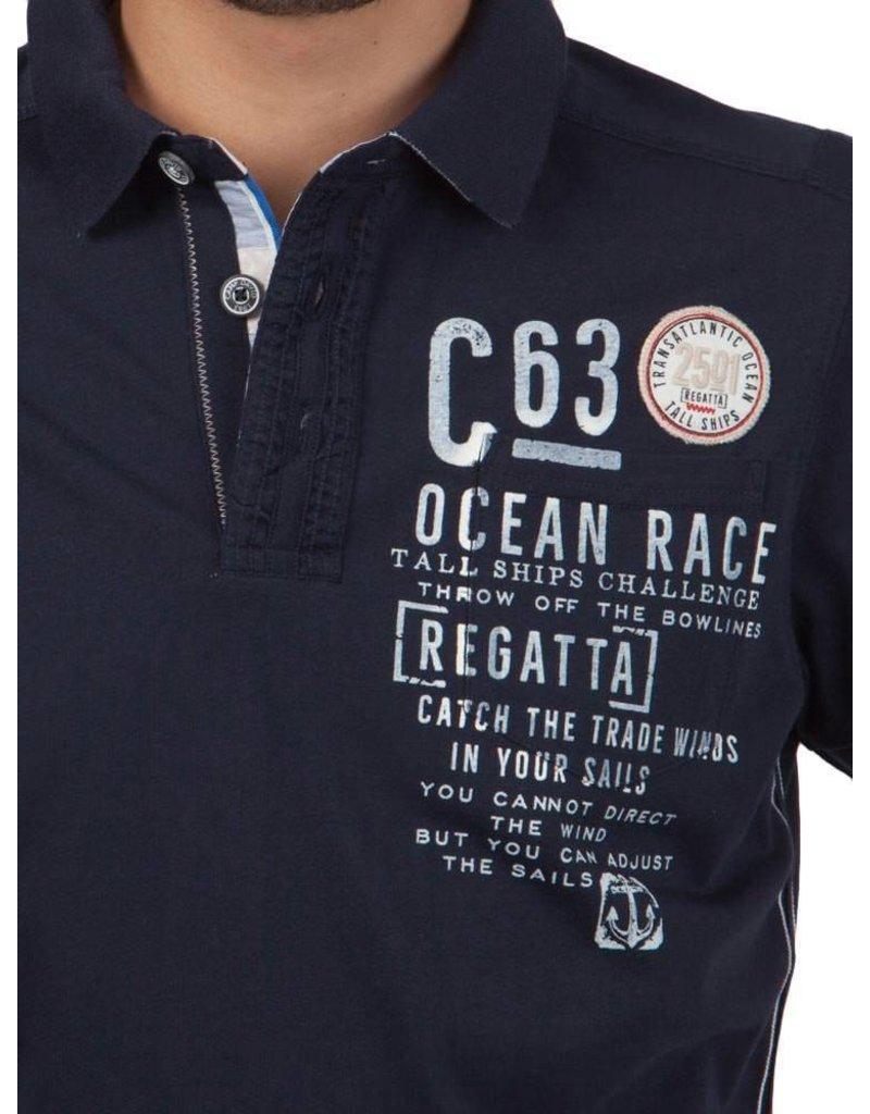 Camp David ® Polo Shirt Ozeanrennen