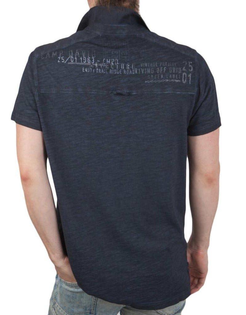 Camp David ® Polo Shirt Cargo Route - Copy
