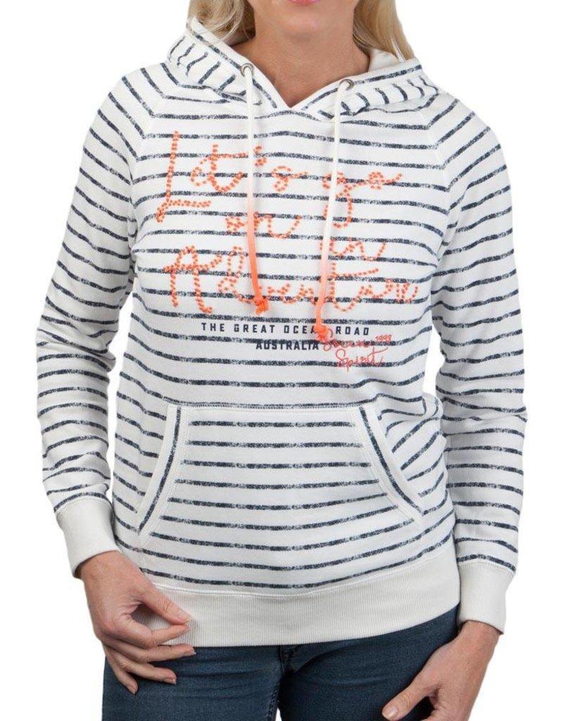 Soccx ® Sweatshirt Kapuze mit Artwork
