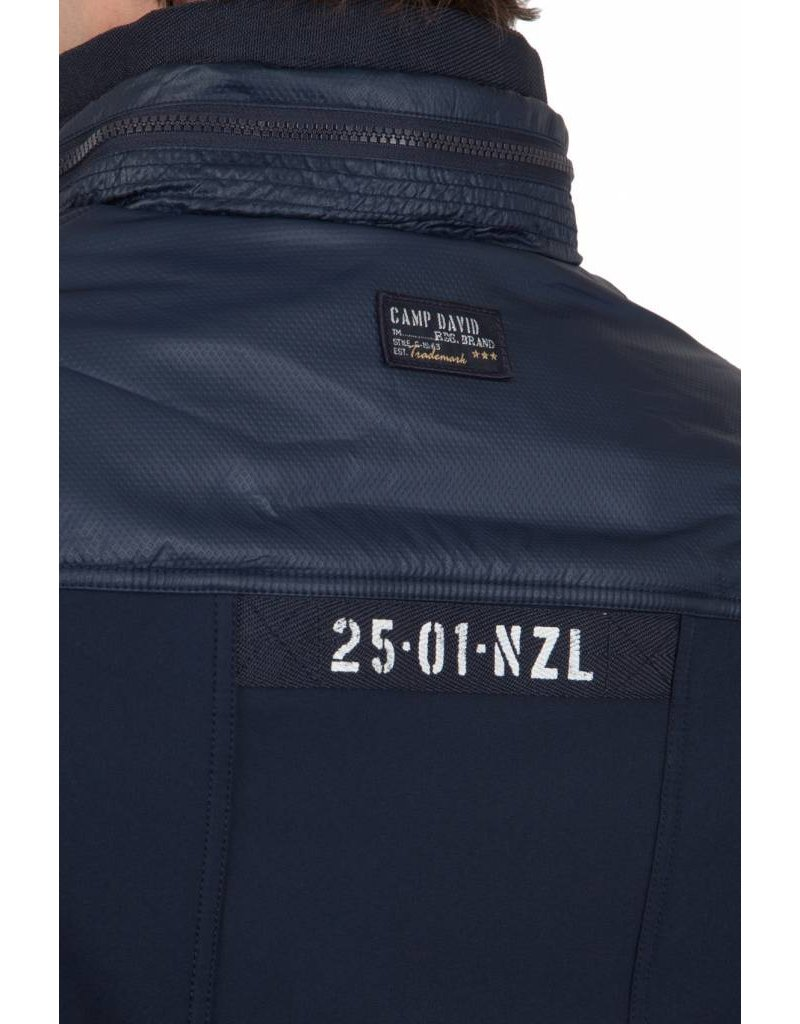 Camp David ® Softshell Jacke Northland, Dunkelblau