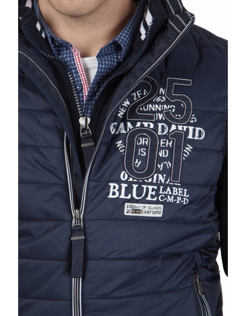 Camp David ® Bodywarmer Bay of Island, Dunkelblau