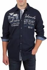 Camp David ® Shirt Bay of Island, Dunklblau