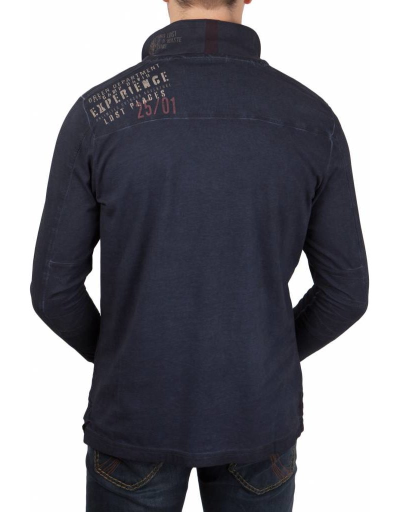 Camp David ® Poloshirt Lost Spaces L/S
