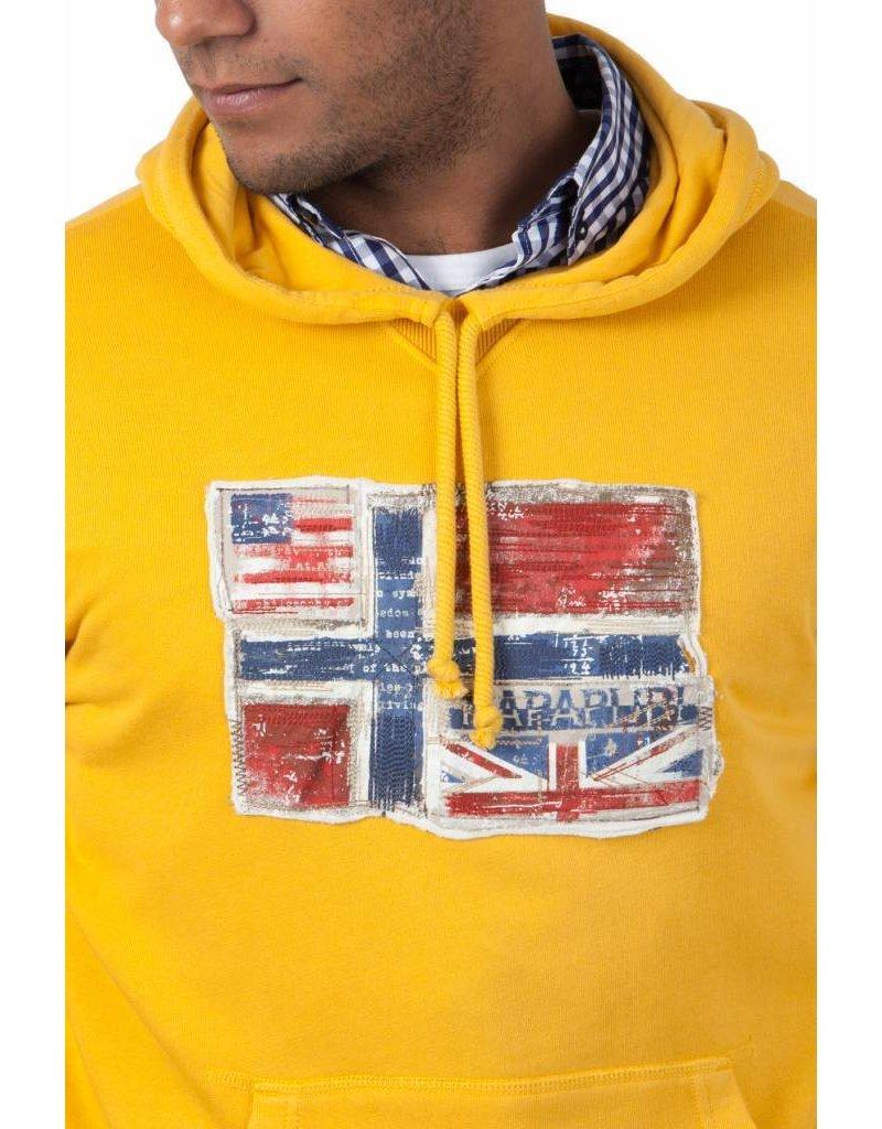 Napapijri ® Hoodie Sweatshirt Norway Flag