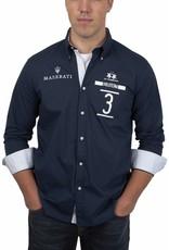 La Martina ® Hemd Maserati Poloteam Dunkelblau