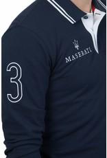 La Martina ® Poloshirt Maserati, Dunkelblau