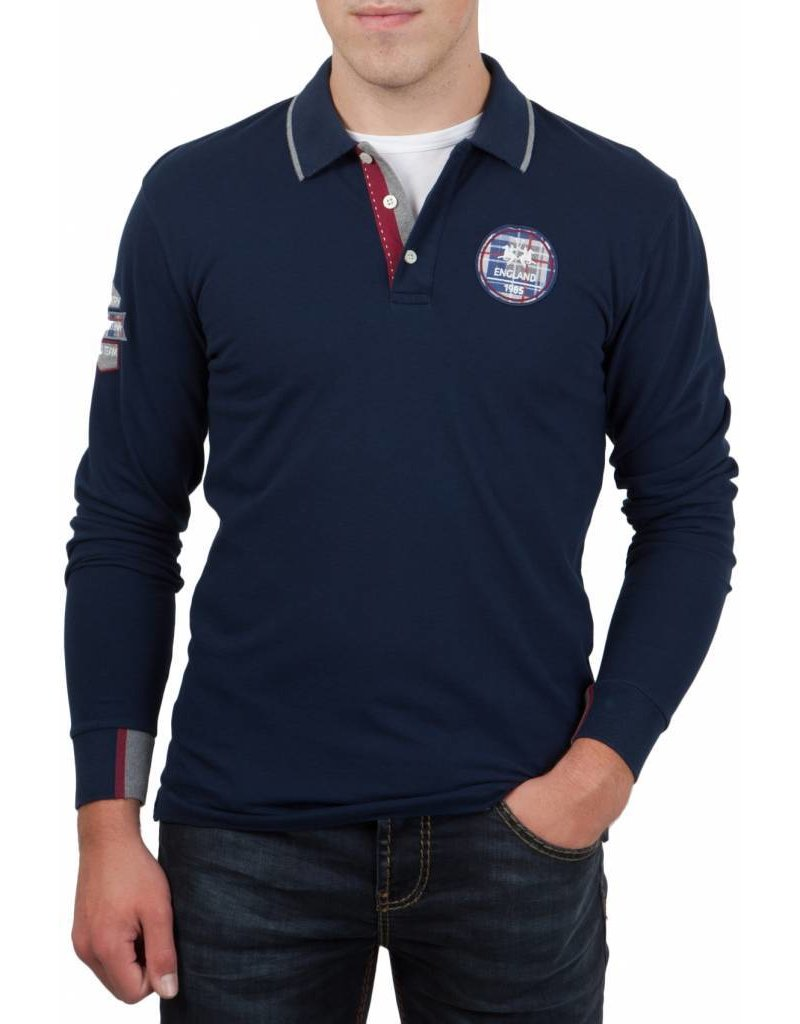 La Martina ® Poloshirt Country Polo Dunkelblau