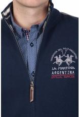 La Martina ® Lammwolle Strickjacke Argentina