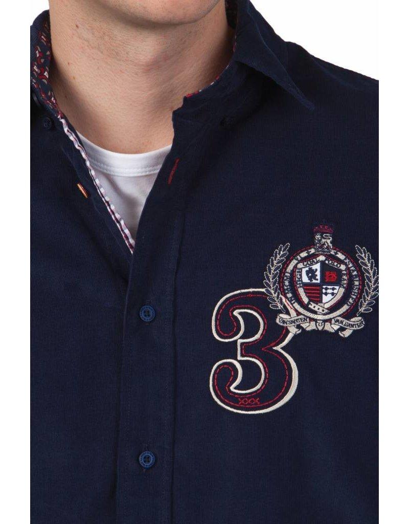 van Santen & van Santen ® Hemd  Badge Poplin nr. 3