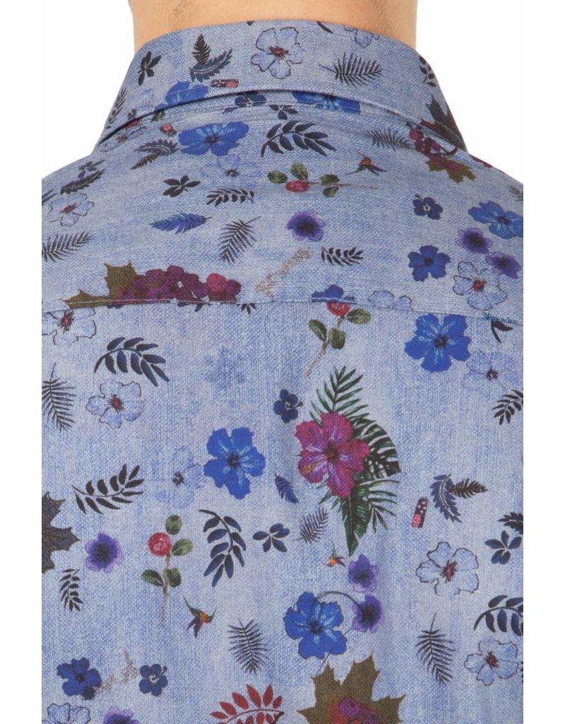 NZA - New Zealand Auckland ® Hemd  Flowers