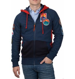 Napapijri Napapijri ® Hoodie Sweat Strickjacke Badges
