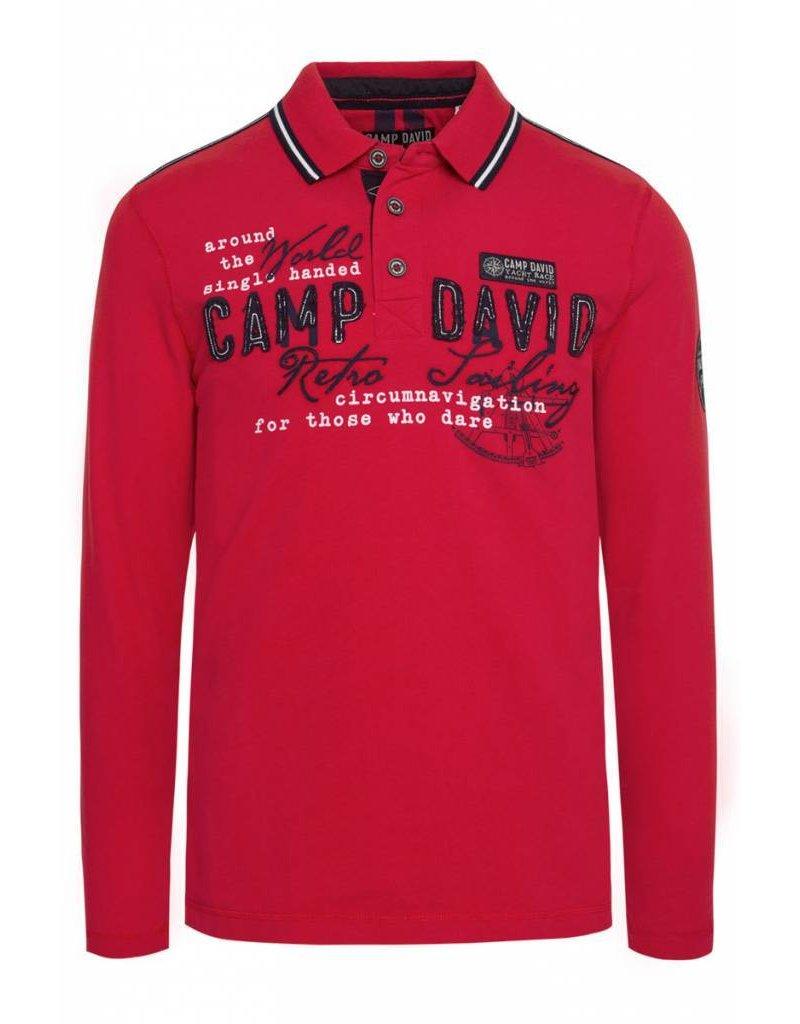 Camp David ® Poloshirt Retro Sailing
