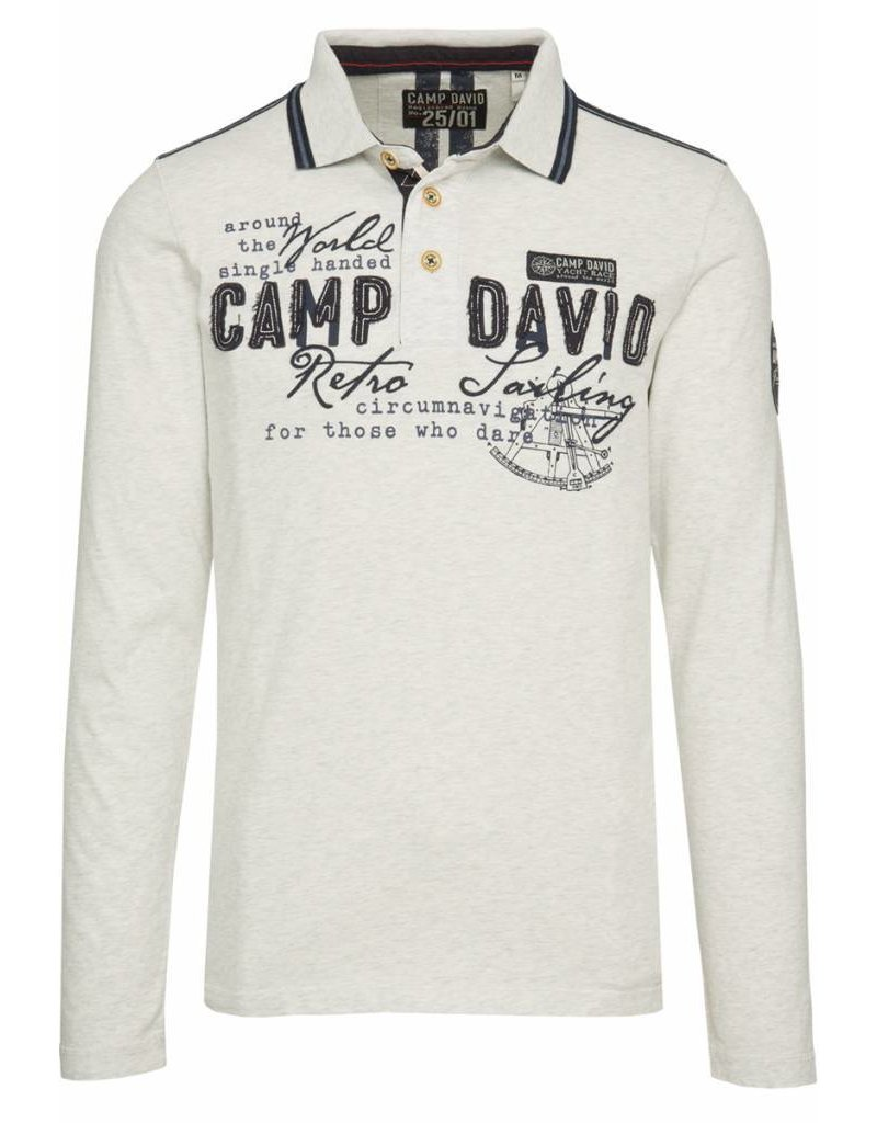Camp David ® Poloshirt Retro Sailing