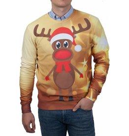 Rudy Land Rudy Land Weihnachtspullover Yellow Star
