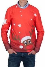 Rudy Land Weihnachtspullover X-Mas Red