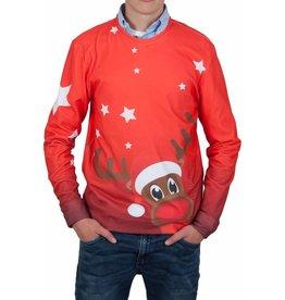 Rudy Land Rudy Land Weihnachtspullover X-Mas Red