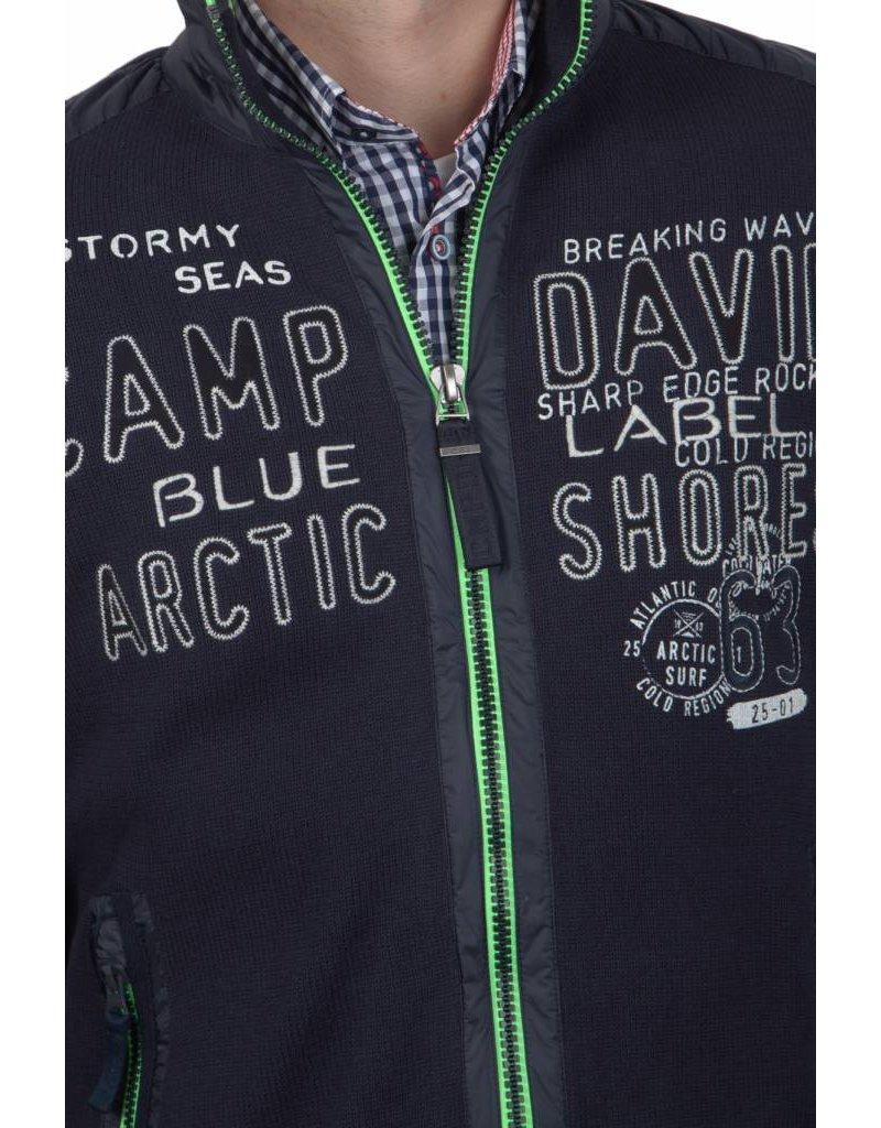 Camp David Strickjacke Arctic Surf