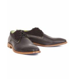 Berkelmans Shoes Leder, Schwarz