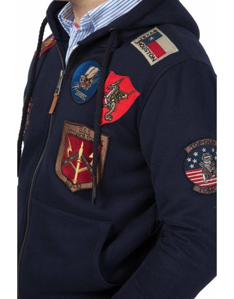 Top Gun ® Kapuzenjacke, Dunkelblau