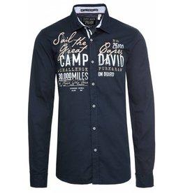 Camp David Camp David ® Shirt Retro Sailing, dunkelblau