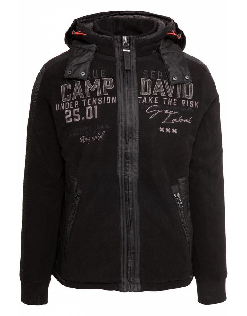 Camp David Fleece Strickjacke Alpine Lifeguard