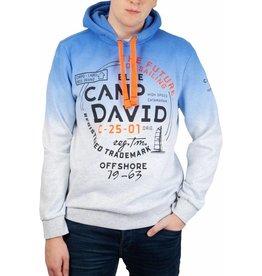 Camp David Camp David Hoodie Sweatshirt mit Farbverlauf
