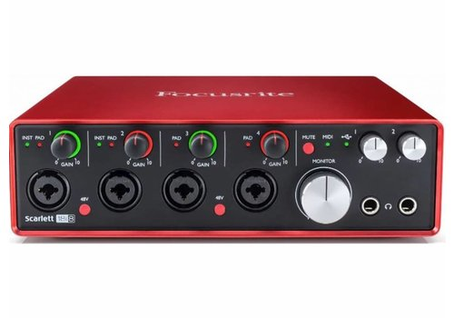 Focusrite Scarlett 18i8 (2nd Gen) USB Audio Interface