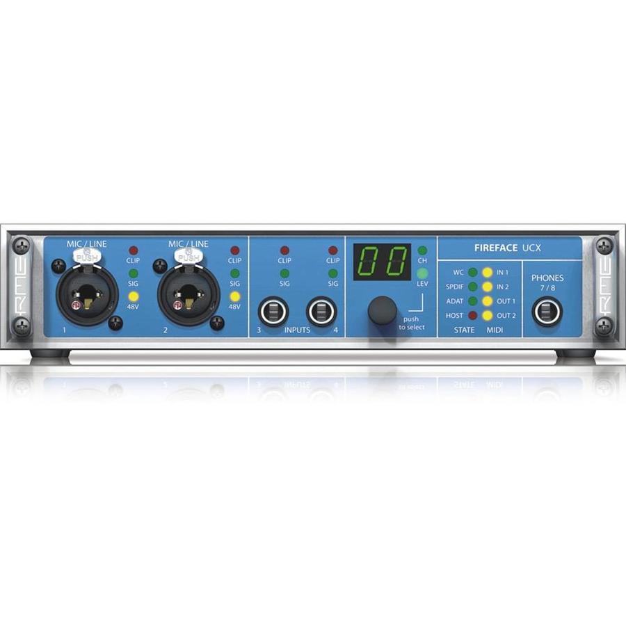 RME Fireface UCX desktop FireWire en USB audio interface
