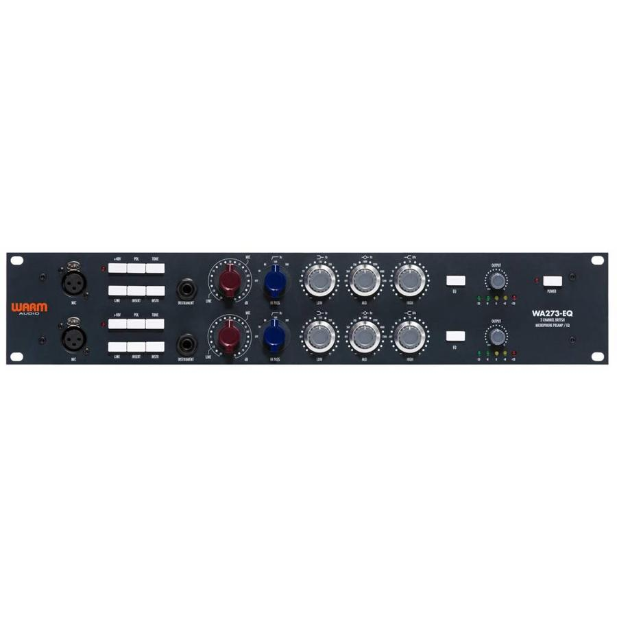 Warm Audio WA273-EQ Dual Channel British Mic Pre + EQ