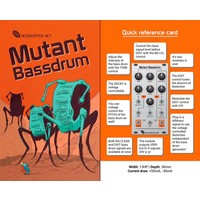 Hexinverter Mutant Bassdrum Eurorack Module