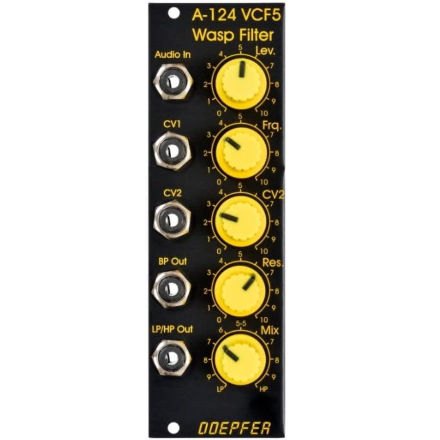 Doepfer A-124 Wasp Filter Special Edition black/yellow