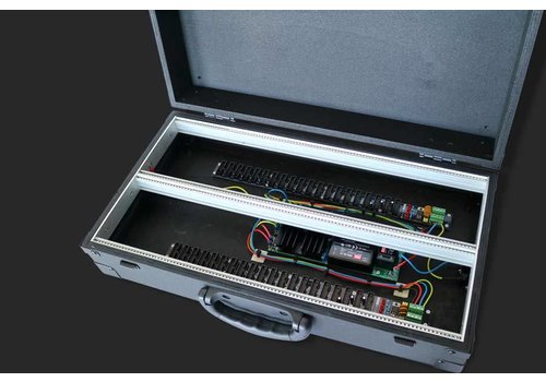 "MDLR Case 6U/104HP portable eurorack case ""performer series"""