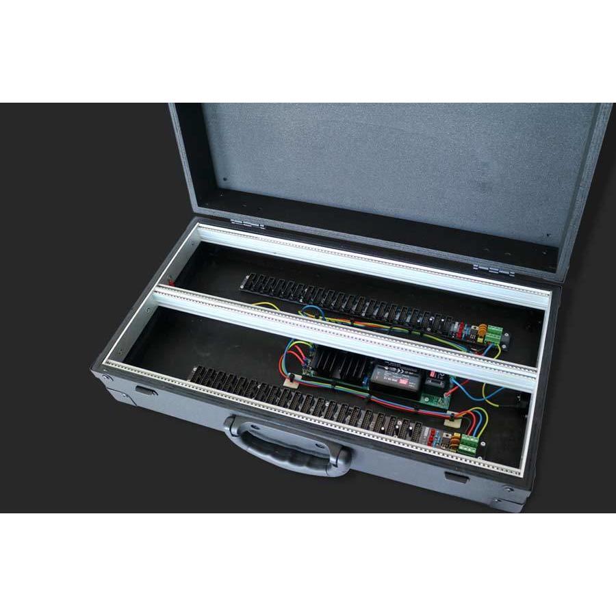 "MDLR Case 6U/104HP portable eurorack case ""performer series"""