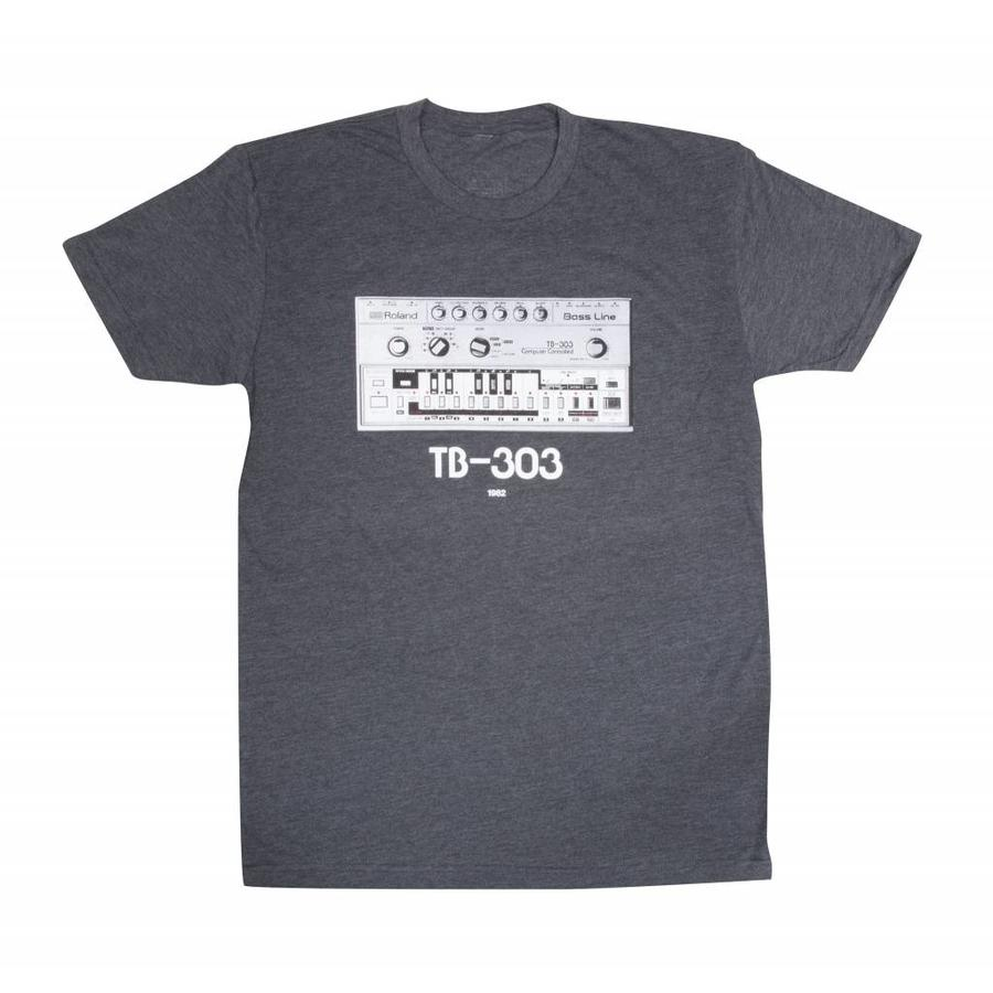 Roland TB 303 T-Shirt Charcoal