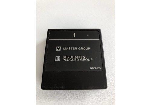 Yamaha DX7 Voice ROM 1 - ROM Cartridge